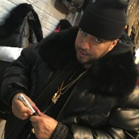 FRENCH MONTANA WALL SIGNING